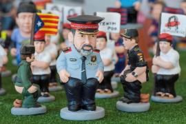 'Los Jordis' y Trapero entre las nuevas figuras de 'caganer' para esta Navidad