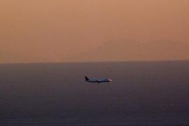 El perfil de Mallorca se dibuja en el horizonte de Barcelona