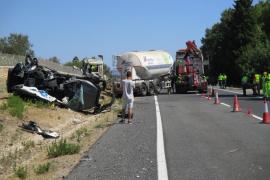 Dos carreteras de Mallorca concentran el mayor número de fallecidos de 2017