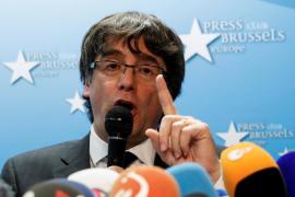 Puigdemont anuncia la creación de una «estructura estable» del «legítimo Govern» de Cataluña