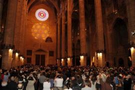 El espectáculo del 'Vuit' vuelve este sábado a la Catedral de Mallorca