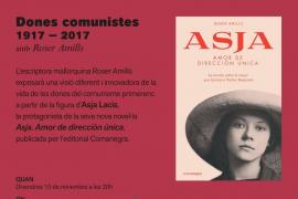 Roser Amills imparte la conferencia 'Dones comunistes: 1917-2017' en la Llibreria Lluna
