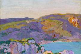 Los paisajes, fuente de inspiración en la nueva exposición de Anglada-Camarassa en CaixaForum