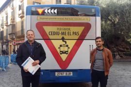 Una campaña de la EMT pide a los conductores que cedan el paso a los autobuses