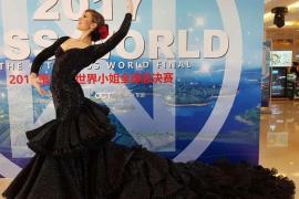 La mallorquina Eli Tulian, representante de España en Miss World 2017, ya se encuentra en China