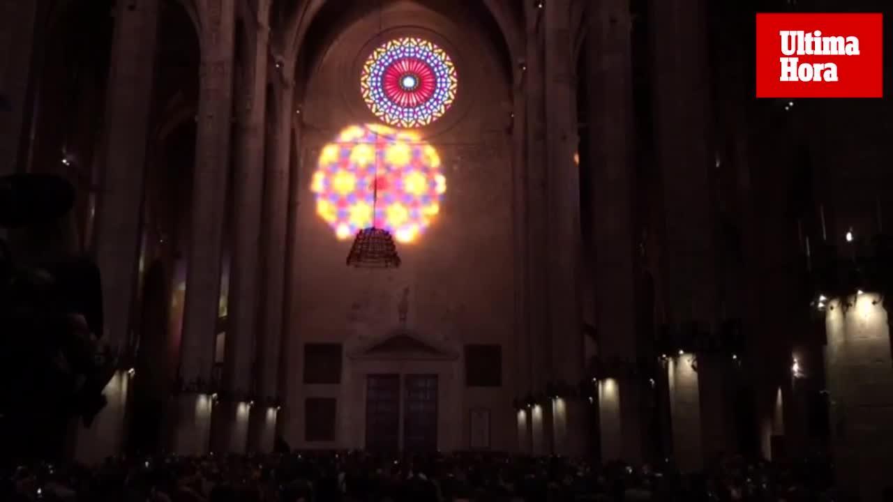 El espectáculo del 'Vuit' invade la Catedral de Mallorca