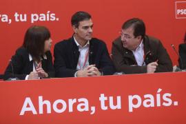 Sánchez ve al PSOE «fuerte y unido»