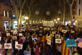 Marcha en Palma para exigir la libertad de los «presos políticos»
