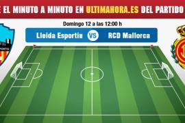 Lleida-Real Mallorca, en directo