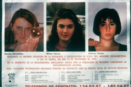 El asesinato de las niñas de Alcàsser: 25 años del triple crimen que tuvo en vilo a España
