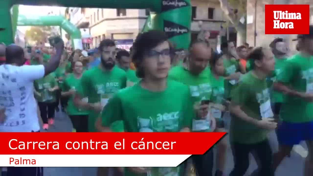 Más de 3.000 personas participan en la carrera contra el cáncer de AECC Mallorca