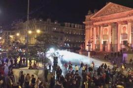 La clasificación de Marruecos para el Mundial se salda con 22 policías heridos en Bruselas