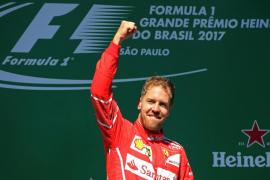 Vettel gana el GP de Brasil y Alonso queda octavo