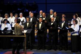 Las corales de la UIB celebran su tradicional concierto de Navidad en el Auditórium de Palma