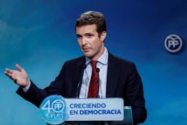 El PP acusa a Podemos de ir «dopado» con dinero iraní para tumbar el sistema