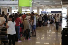Récord de pasajeros en octubre en Son Sant Joan