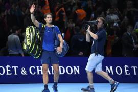 Nadal se retira de las Finales ATP y le sustituye Carreño