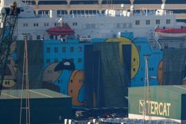 Interior realoja a los policías y guardias civiles del 'barco de Piolín' en hoteles y en otro ferry