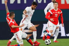España empata ante Rusia