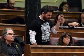 Rufián a Zoido: «Ustedes nos molieron a palos, nosotros les moleremos a votos»