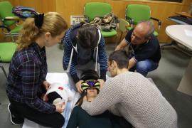 Una veintena de sanitarios participa en Ibiza en un curso de soporte vital avanzado..
