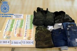 Detenida una cuidadora por robar 20.000 euros y joyas en la casa donde trabajaba en Palma