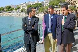 Retirarán la placa de Jaume Matas en las Coves Blanques de Port Cristo