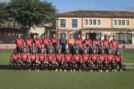 El Mallorca se hace la foto oficial de la temporada 2017/2018