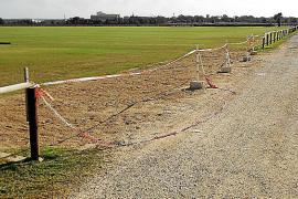 El Consell precinta los dos campos de polo de sa Barralina por no contar con licencia