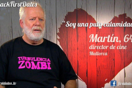 El cineasta Martín Garrido, en 'First Dates'