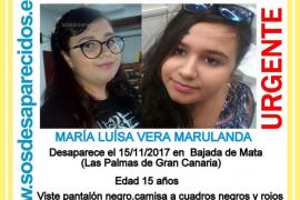 Desaparecida desde el miércoles una joven de 15 años en Las Palmas de Gran Canaria