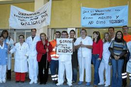 Frente sindical contra el decreto de catalán en la sanidad pública