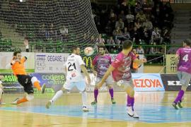 El Palma Futsal da un paso atrás en Segovia