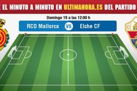 Real Mallorca-Elche, en directo