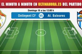 Ontinyent-Atlético Baleares, en vivo