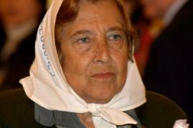 Muere la presidenta de las Madres de la Plaza de Mayo
