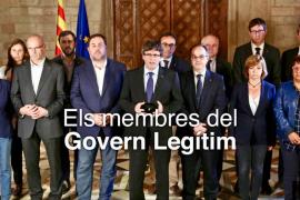 Eliminan la foto de Santi Vila en la web que reclama el «Govern legítimo»