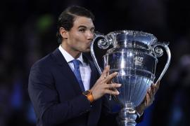 Nadal cierra el 2017 con más de 1.000 puntos sobre Federer