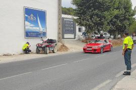 El atestado concluye que la conductora que golpeó a Nieto no respetó la distancia de seguridad