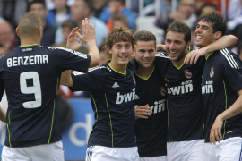 El Madrid fulmina al Valencia y no se da por vencido
