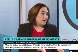 Colau afirma que ni la DUI ni las cargas policiales del 1O ayudaron a llevar la Agencia Europea del Medicamento a Barcelona