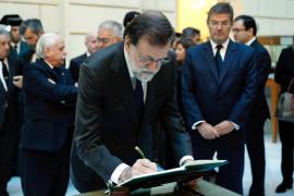 Rajoy destaca de Maza que fue una persona «recta, justa y conocedora de la realidad»