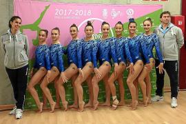 Éxito por triplicado de la gimnasia artística balear