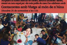 'La caputxeta forçuda' un cuentacuentos de Viatge al Món de n'Aina en Rata Corner