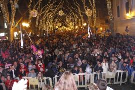 Cortes de tráfico en Palma con motivo del encendido de las luces de Navidad