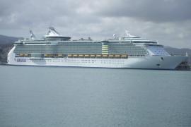 Palma recibe al ´Liberty of the Seas´, el mayor crucero previsto este año