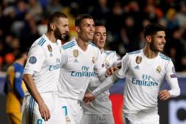 El Real Madrid recupera la pegada para sellar su pase a octavos