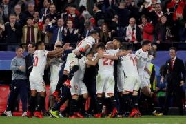 Empate épico del Sevilla ante el Liverpool que deja a ambos con los deberes por hacer