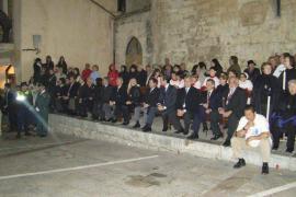 La oposición de Sineu abandona la procesión del viernes por la presencia de Bauzá y Melià