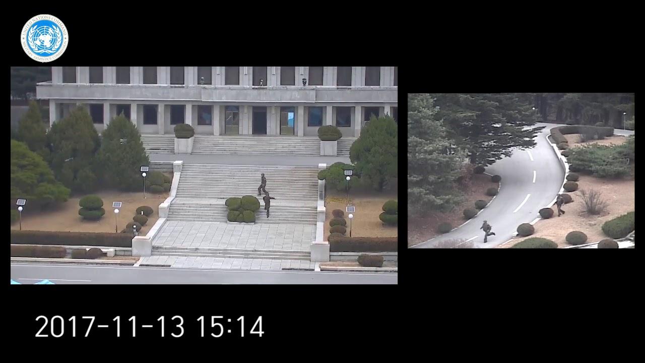 Espectacular huida a Corea del Sur de un soldado desertor del norte